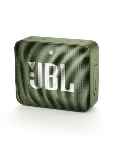 JBL Bluetoothスピーカー JBLGO2GRN グリーン [Bluetooth対応]