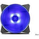 クーラーマスター COOLER MASTER ケースファン[120mm / 1200RPM] MasterFan MF120L R4-C1DS-12FB-R1 Blue LED[R4C1DS12FBR1]