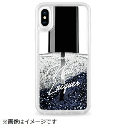 CASETIFY <strong>ケースティファイ</strong> iPhone X用 Glitter Case CTF-4367950-371604 Exclusive Glitter Nail Lacquer