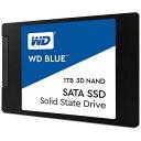 WESTERN DIGITAL ウェスタン デジタル WDS100T2B0A 内蔵SSD WD BLUE 3D NAND SATA SSD 2.5インチ /1TB
