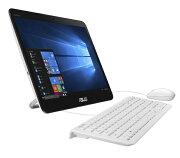 【送料無料】 ASUS エイスース V161GAT-N4PROWHT デスクトップパソコン ASUSPRO ホワイト [15.6型 /HDD:500GB /メモリ:4GB /2018年6月]