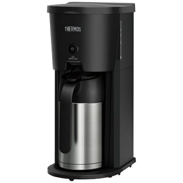 サーモス THERMOS ECJ-700 コーヒーメーカー ブラック[ECJ700BK]