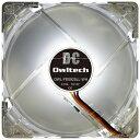 OWLTECH オウルテック ケースファン[92mm / 1600RPM] LEDファン 25mm厚 OWL-FE0925LL-WH ホワイ...