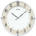 セイコー SEIKO 電波掛け時計 KX242B KX242B 白パール