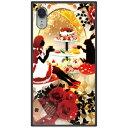 藤家 iPhone XR 6.1 幻想デザイン ガラスハイブリッド U .アリスのティーパーティ