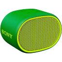 ソニー SONY ブルートゥース スピーカー SRS-XB01GC グリーン Bluetooth対応 /防水 SRSXB01GC