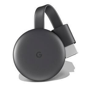Google グーグル Chromecast GA00439-JP チャコール[クロームキャスト GA00439JP Chromecast第三世代]