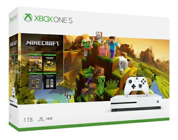 マイクロソフトMicrosoftXboxOneS1TB(Minecraftマスターコレクション同梱版
