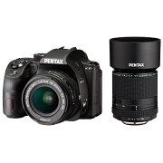 【2018年10月26日発売】 【送料無料】 リコー RICOH PENTAX K-70【300WズームREキット】(ブラック)/デジタル一眼レフカメラ