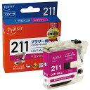 プレジール plaisir PLE-BR211M 互換プリンターインク ブラザー用 プレジール(ブラザー用) マゼンタ PLEBR211M 【wtcomo】