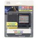オーム電機 OHM ELECTRIC RAD-H310N 携帯ラジオ AudioComm [AM/F...