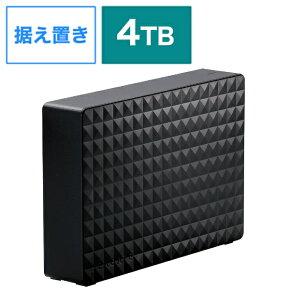エレコム ELECOM SGD-MX040UBK 外付けHDD ブラック [4TB /据え置き型][SGDMX040UBK]