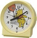 リズム時計 RHYTHM 目覚まし時計 めざましとけいR671 黄(白) 8RE671MC33 [アナログ]