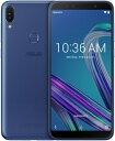 【送料無料】 ASUS エイスース Zenfone Max Pro M1 スペースブルー「ZB602KL-BL32S3」Snapdragon 636 6型 メモリ/ストレージ:3GB/32G..