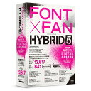 ロゴヴィスタ LogoVista FONT x FAN HYBRID 5[FF09R1]