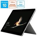 マイクロソフト Microsoft MHN-00017 Windowsタブレット Surface Go(サーフェスゴー) シルバー [10.0型 /intel Pentium /eMMC:64GB..