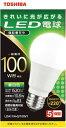 東芝 TOSHIBA LED電球 全方向 昼白色 100W形...