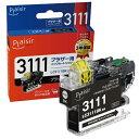 プレジール plaisir PLE-BR3111B 互換プリンターインク ブラザー用 プレジール(ブラザー用) ブラック PLEBR3111B 【wtcomo】