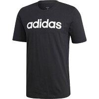 アディダス adidas トレーニングウェア CORE リニアTシャツ メンズ Oサイズ (ブラック/ホワイト) FSG79の画像