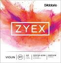 D'Addario ダダリオ バイオリン弦 ZYEXセット DZ310A 4/4M ZYEX SET ALM D MED ミディアム