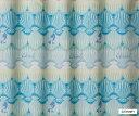 スミノエ SUMINOE ドレープカーテン プリンセス/シェル(100×135cm/ライトブルー)