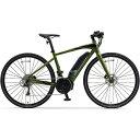 ヤマハ YAMAHA 【eバイク】 700×35C型 電動アシストロードバイク YPJ-EC(Deep Forest/外装18段変速)【Lサイズ/2020年モデル】【組立商..
