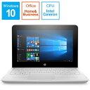 HP ヒューレット・パッカード 7WN62PA-AAAB ノートパソコン x360 11-ab133TU G1モデル スノーホワイト [11.6型 /intel Celeron /SSD:128GB /メモリ:4GB /2019年12月モデル][11.6インチ office付き 新品 windows10 7WN62PAAAAB]