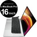 エレコム ELECOM MacBook Pro 16inch (2019) / 13inch (2020)対応 シリコンキーボードカバー ブラック PKS-MBP16BK