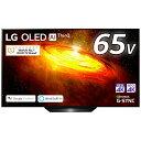 LG 有機ELテレビ ブラック OLED65BXPJA [65V型 /4K対応 /BS・CS 4Kチ...