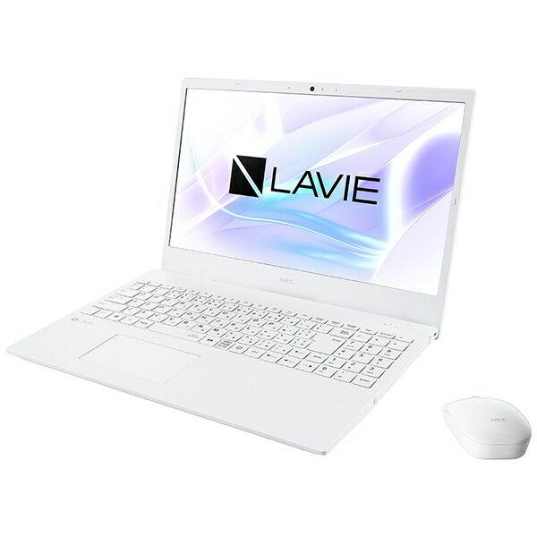 NEC エヌイーシー PC-N1536AZW-2 ノートパソコン LAVIE N15シリーズ パールホワイト [15.6型 /AMD Ryzen 3 /SSD:512GB /メモリ:8GB /2020年夏モデル][15.6インチ office付き 新品 windows10]【point_rb】