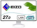EIZO エイゾー USB-C接続 PCモニター FlexScan ホワイト EV2795-WT [27型 /WQHD(2560×1440) /ワイド]