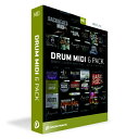 クリプトン・フューチャー・メディア Crypton Future Media DRUM MIDI 6PACK DMD6P Toontrack Music DMD6P [Win・Mac用]