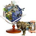 ショッピングしゃべる地球儀 FUCASHUNINDUSTRIAL しゃべる 地球儀 AR 13cm 日本語 英語 地勢図 リアルアース ブルー 誕生日 入学 プレゼント FUN GLOBE ブルー PC-105HMW-2
