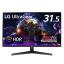 LG ゲーミングモニター UltraGear ブラック 32GN600-BAJP [31.5型 /WQHD(2560×1440) /ワイド]