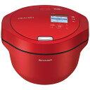 シャープ SHARP KN-HW24GR 水なし自動調理鍋 HEALSIO(ヘルシオ)ホットクック レッド系