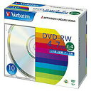 三菱化学メディア2〜4倍速対応 データ用DVD-RWメディア (4.7GB・10枚) DHW47Y10V1 [DHW47Y10V1]