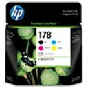 HP【純正】 HP178(5色) インクカートリッジ CR282AA [CR282AA]