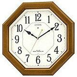 【】シチズン/リズム時計電波掛け時計 「ネムリーナルック」 4MY645-006[4MY645006]◆09◆