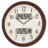 【あす楽対象】シチズン/リズム時計電波掛け時計 「ネムリーナカレンダー」 4FYA01-006[4FYA01006]◆09◆