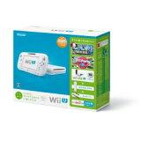 【】任天堂Wii U 马上能玩的家庭高端组套+Wii Fit U(白色)[WUPSWAFT][【】任天堂Wii U すぐに遊べるファミリープレミアムセット+Wii Fit U(シロ) [WUPSWAFT]]