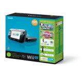 【】任天堂Wii U 马上能玩的家庭高端组套+Wii Fit U(黑)[WUPSKAFT][【】任天堂Wii U すぐに遊べるファミリープレミアムセット+Wii Fit U(クロ) [WUPSKAFT]]