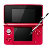【】任天堂任天堂3DS 金属风格红色 [CTRSRDBA][【】任天堂ニンテンドー3DS メタリックレッド [CTRSRDBA]]