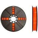 【送料無料】 MAKERBOT 3Dプリンタ MakerBot Replicator/mini/Z18用 PLAフィラメント Largeタイプ(True Orange) MP05777