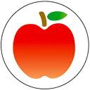 フルーツシール モモ【授業/小学校/ごほうびシール/学習シール/採点/教師/教員/先生用品/シール】