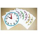カラー時計模型セット(6枚組)【学習用品/算数】