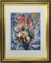 アートフレーム 名画 マルク・シャガール Marc Chagall 天に捧げる花束 ifa-60899 絵画 壁掛け おしゃれ 油絵 送料無料