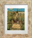 アートフレーム 名画 クロード・モネ Claude Monet The Monet's garden at Vetheuil S(WH) zfa-61759 印象派 絵画 壁掛け おしゃれ