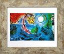 アートフレーム 名画 マルク・シャガール Marc Chagall II concerto,1957 S(WH) zfa-61794 絵画 壁掛け おしゃれ あす楽