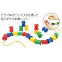 ボビンひもとおし あす楽対象[メール便不可](知育玩具 日常生活の練習)-商品代購