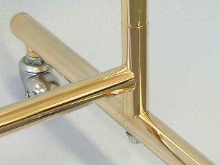 ハンガーラックプロS600オールゴールドイメージ5・金属部品のみ使用完全溶接